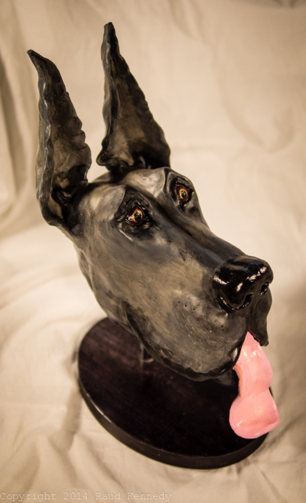 ceramic dog sculpture - great dane 2