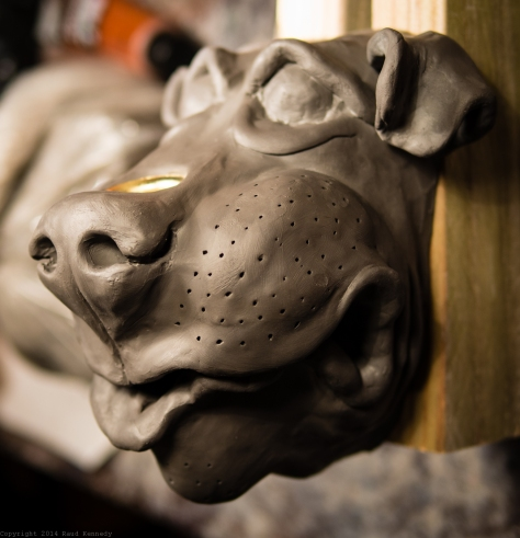 dog sconce for candle 3